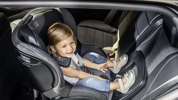 Посадка малыша затылком по ходу движения автомобиля